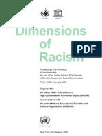 Dimensions of Racism - UN