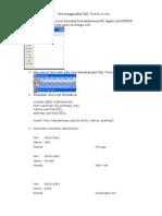 Tugas Cara Menggunakan SQL View Di Access