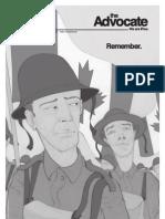 The Brant Advocate, Issue 3, November 2011