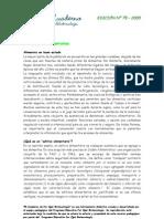 El Cuaderno 75_1. Aditivos