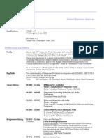 SAP EP Netweaver Portal Resume