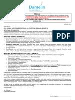 DCC Grade 12 ExamControl Test Invitation 2013