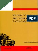 ROIG - Teoria y Dritica Del Pensamiento Latinoamericano (Intro y Cap 1)