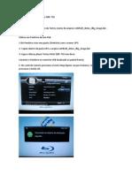 Atualização Bluray Modelo DBR