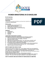 Women Ministering in Evangelism 1 for Web