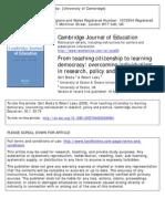 Biesta on citizenship in education
