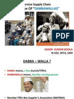 Service Supply Chain of Mumbai Dabbawallas