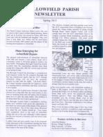 Swallowfield Parish News - Spring 13 - SDL Article