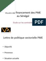 Acces Des PME Au Financement