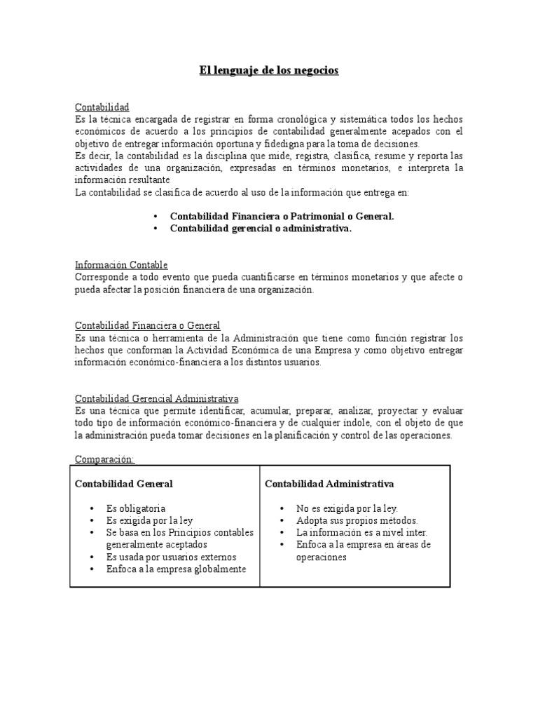 Lujo Ejemplos Objetivos De Resumen Contable Composición - Ejemplo De ...