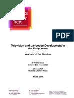TV Language Early Years 2004