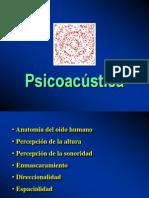 Fisiologia Del Oido - Psicoacustica