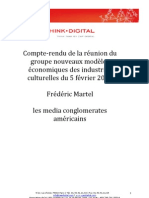 20090303 Compte-rendu Industries Culturelles