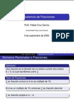 Equivalencia de Fracciones (Alumno)