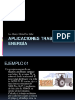 aplicaciones trabajo-energía