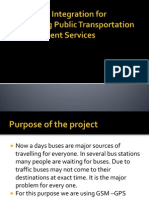 GPS-GSM Integration for Enhancing Public Transportation Management Services