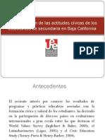 Actitudes Civicas en Baja California Con CIVED Muy Bueno Con SEM