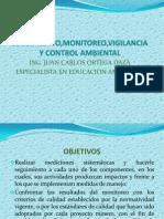 Seguimiento,Monitoreo,Vigilancia y Control Ambiental