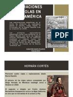 Unidad 1 Exploraciones españolas en Norteamérica - Sebastián Amaya