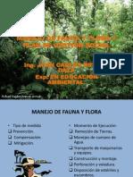 Manejo de Fauna y Flora