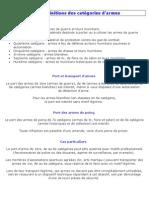 categories armes.pdf
