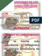 FUNCIONES DE LOS CARBOHIDRATOS.pptx