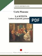 La Scelta - Pisacane, Carlo