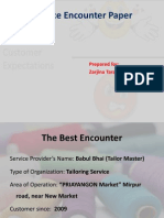 Service Encounter Paper Final One