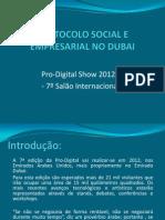Protocolo Social Empresarial Dubai