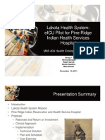 group 1 lakota health system eicu pilot