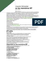 MANIOBRAS MATCentro de Formación Schneider