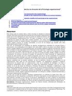 Tendencias Psicologia Organizacional Mundo