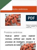 Protutos Ceramicos e Alvenaria Estrutural