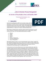An Intro to BPM - Inex v1.0