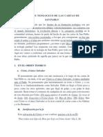 Cartas de San Pablo 3 Teología