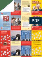 Campagnefolder PVDA+ verkiezingen 2009 (tweetalig)