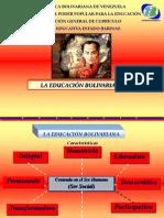 EDUCACIÓN BOLIVARIANA PRIMER DÍA