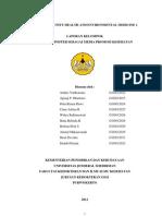 Daftar Isi Laporan Pbl
