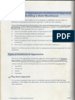 Data Warehouse Approaches