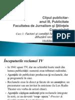 Clipul Publicitar-curs 1