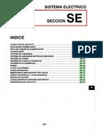 043[Manual] Nissan Tsuru 91-96 - Serie B13 Motor GA16DNE (Suplemento) - Sistema Electrico