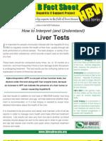 Interpret Liver Tests