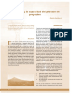 Seis Sigma y La Capacidad Del Proceso en Proyectos