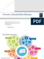Marketing Promotions and Social Media