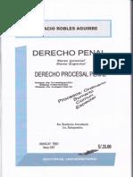 Derecho Penal y Procesal Penal - Robles Aguirre 4ta Edicion