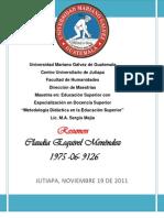 RESUMEN QUINTA DISCIPLINA CLAUDIA ESQUIVEL.pdf