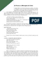 Poesias de Fernando Pessoa e a Mensagem de Cristo