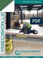 Prime Resins - Precision Lift Brochure