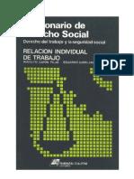 Diccionario de Derecho Social - Derecho Individual Del Trabajo