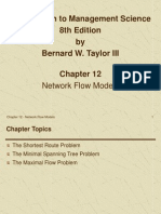 Chapter 12 - Network Flow Models